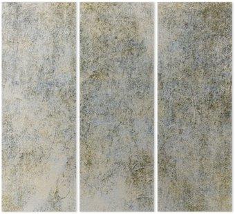 Tryptyk Retro tle tekstury starego papieru