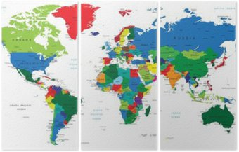 Światowa mapa-państwa