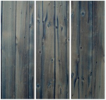 Tryptyk Vintage Wood Background