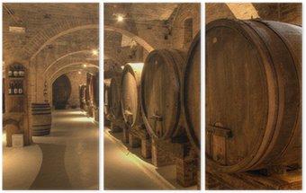 Winiarnia w opactwie Monte Oliveto Maggiore