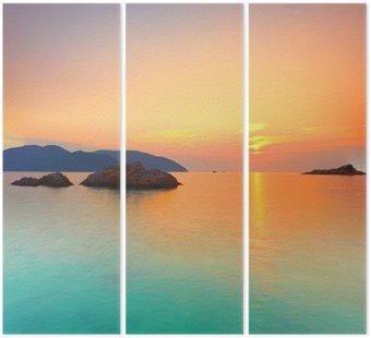 Tryptyk Wschód słońca