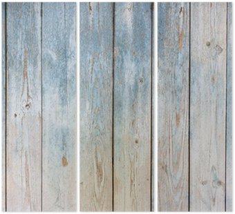 Zabytkowe drewniane tle niebieski