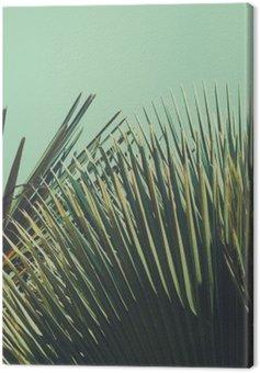Tuval Baskı Abstrac tropikal vintage background. Retro tonda.
