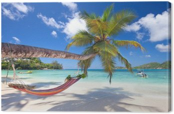 Tuval Baskı Baie Lazare, Seychellen