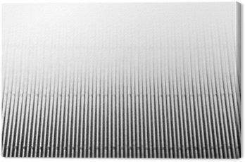 Tuval Baskı Dikey çizgiler ve başlığı ile soyut minimalist beyaz çizgili arka plan. alan kopyalayın. doku.