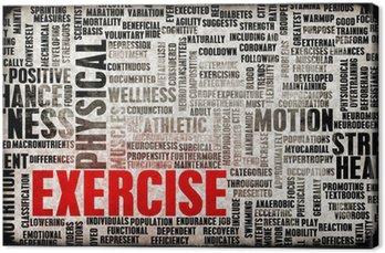 Tuval Baskı Egzersiz Kavramı