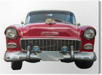 Tuval Baskı Eski amerikan araba