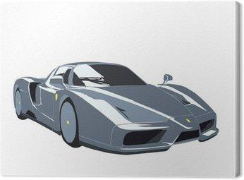 Tuval Baskı Ferrari Enzo sportscar