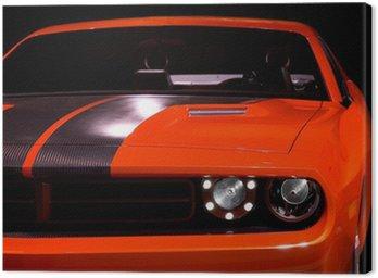 Tuval Baskı Konsept Muscle Car