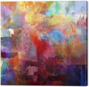 Tuval Baskı Malerei texturen