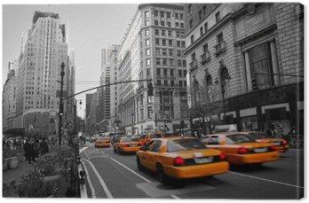 Tuval Baskı Manhattan'da Taxies