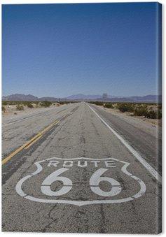 Tuval Baskı Route 66
