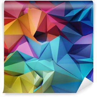 Tvättbar Fototapet Abstrakt geometrisk bakgrund