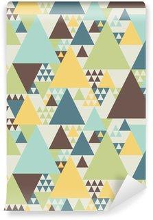 Tvättbar Fototapet Abstrakta geometriska mönster # 2