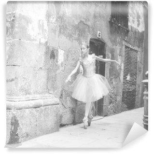 Tvättbar Fototapet Bailarina 4