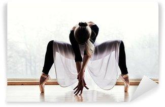 Tvättbar Fototapet Balettdansös