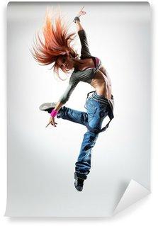 Tvättbar Fototapet Dansaren