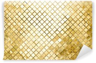 Tvättbar Fototapet Ljus bakgrund med kvadratiska former