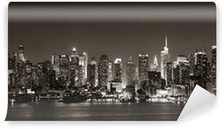 Tvättbar Fototapet Midtown Manhattan Skyline