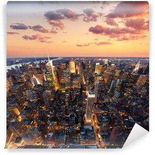 Tvättbar Fototapet New York