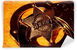 Tvättbar Fototapet Sheriff
