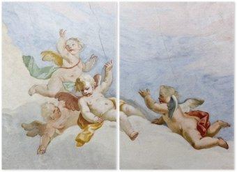 Tweeluik Fresco Wieskirche