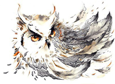 Väggdekor Fågel