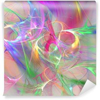 Värikäs abstrakti tausta Vinyyli Valokuvatapetti