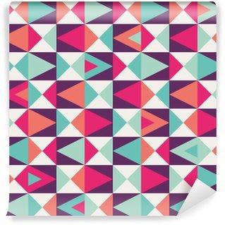 Sømløse geometriske mønster Vaskbare Fototapet