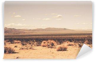 Vaskbar Fototapet Southern California Desert