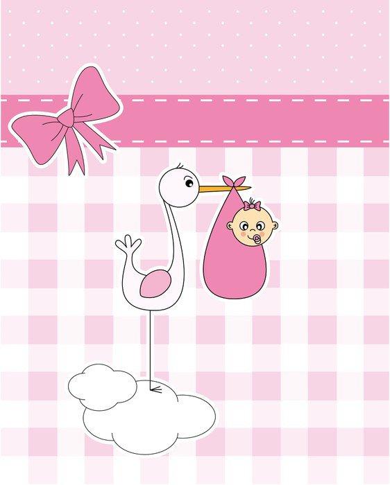 Vinilo pixerstick anuncio nacimiento bebe ni a pixers for Vinilos bebe nina