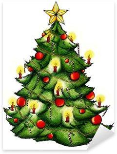 Pixerstick para Todas las Superficies Árbol de navidad, árbol de Navidad, Navidad, Nochebuena