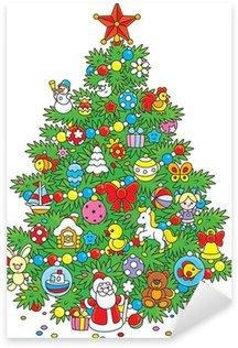 Pixerstick para Todas las Superficies Arbol de navidad