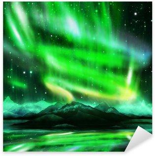 Pixerstick para Todas las Superficies Aurora borealis