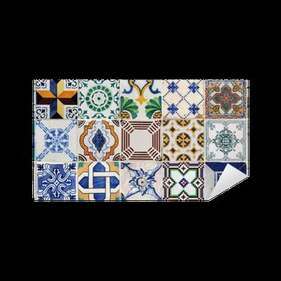 Vinilo pixerstick azulejos lisboa 4 f15 pixers for Azulejos pvc autoadhesivos