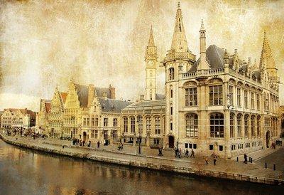 Pixerstick para Todas las Superficies Bélgica - Gent - Foto de estilo retro