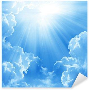 Pixerstick para Todas las Superficies Bellas nubes