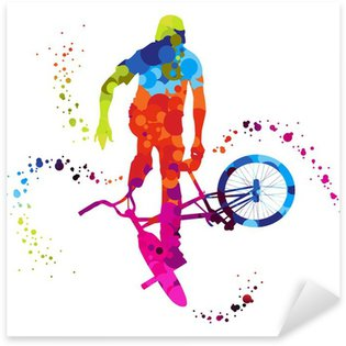 Pixerstick para Todas las Superficies Bmx con puntos de colores