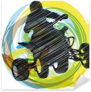 Pixerstick para Todas las Superficies Boceto de bicicleta Sportsman quad