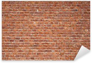 Pixerstick para Todas las Superficies Brick Wall Background