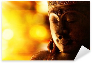 Vinilo Pixerstick Bronce estatua de Buda