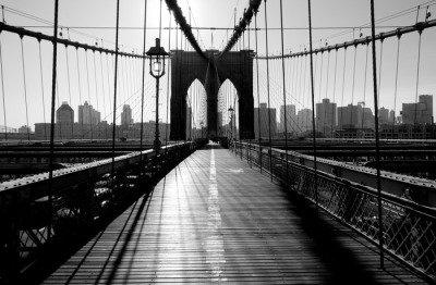 Pixerstick para Todas las Superficies Brooklyn Bridge, Manhattan, Nueva York, EE.UU.