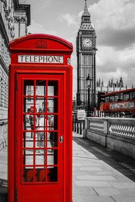 Pixerstick para Todas las Superficies Cabina Téléphone Londres