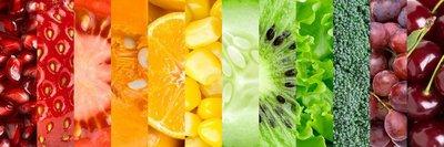 Pixerstick para Todas las Superficies Colección con diferentes frutas y verduras