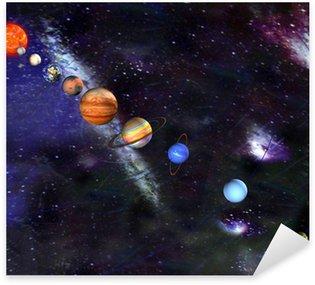 Pixerstick para Todas las Superficies Desfile de los planetas