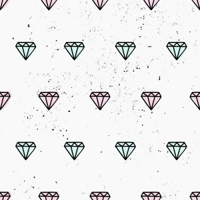Pixerstick para Todas las Superficies Dibujado a mano modelo de los diamantes sin fisuras