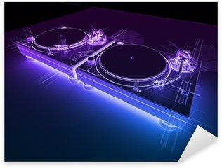 Pixerstick para Todas las Superficies DJ Giradiscos neón 3D Sketch