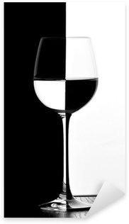 Pixerstick para Todas las Superficies Dominó copa de vino