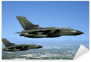 Vinilo Pixerstick Dos aviones de combate