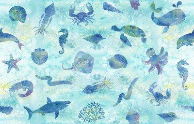 Pixerstick para Todas las Superficies El fondo marino sin fisuras